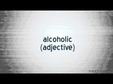 alcoholic – definition