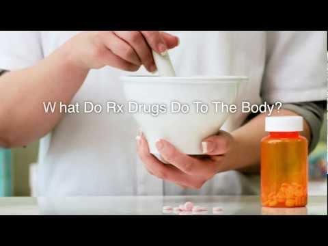 What do prescription drugs do to the body?