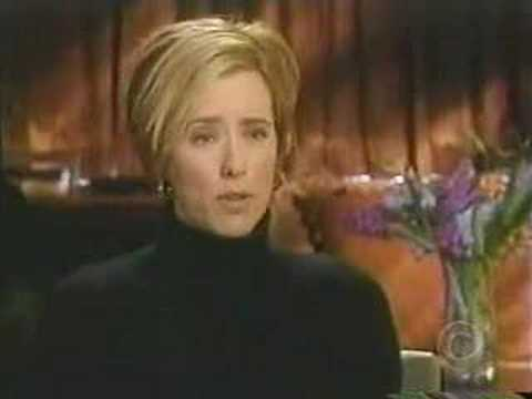 David Duchovny and Tea Leoni on CBS Sunday Morning