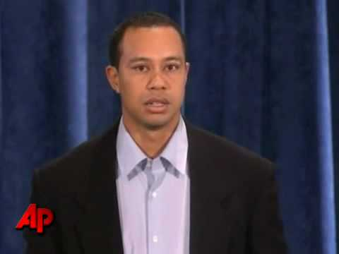 Tiger Woods Apology About Sex Addiction