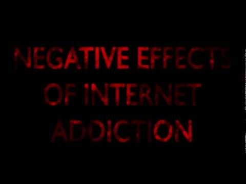 Negative Effects of Internet Addiction by Te-three-s