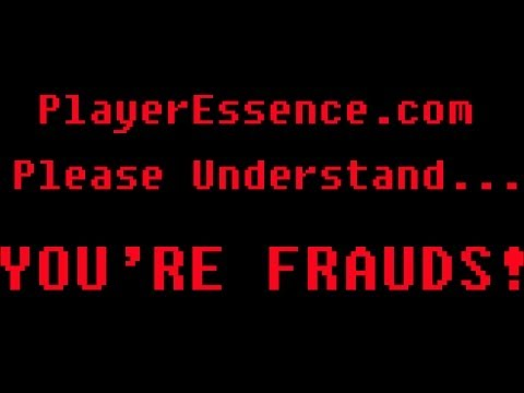 Playeressence.Com Are Censorship Addicted Frauds