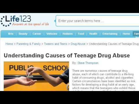 What Are The Causes Of Teenage Alcohol Abuse?